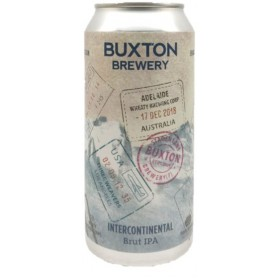 Buxton / Three Weavers / Wheaty Brewing Corp Intercontinental Brut IPA
