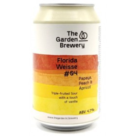 The Garden Florida Weisse 4.0 - Peach, Apricot, Papaya