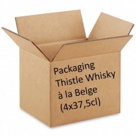 Packaging Thistle Whisky à la Belge (4x37.5cl)