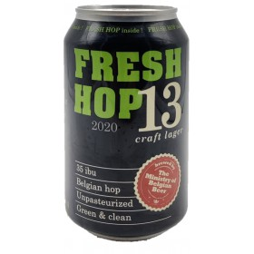 The Ministry of Belgian Beer Fresh Hop 13 2020