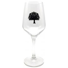 """Tilquin Stemmed Glass """"Tilleul"""" - Black"""