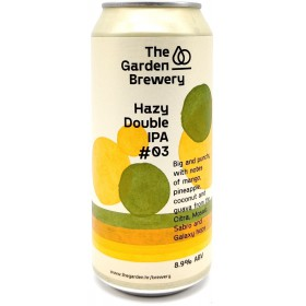 The Garden Hazy Double IPA -03