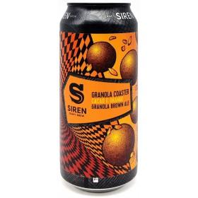 Siren Granola Coaster Cacao - Orange