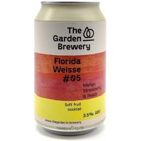 The Garden Florida Weisse -05 - Mango, Strawberry, Peach