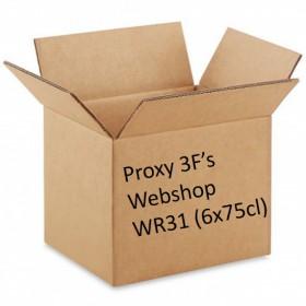 Packaging 3F Webshop WR31: Six times a unique Geuze II (6x75cl)