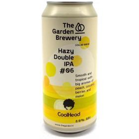 The Garden / CoolHead Brew Hazy Double IPA -06