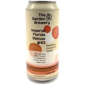 The Garden Imperial Florida Weisse -3 - Raspberry, Coconut - Vanilla
