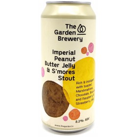 The Garden Imperial Peanut Butter Jelly & Smores Stout