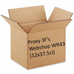 Packaging 3F Webshop WR43: A mixed p. of Geuze, Fruit & Tuverbol  (12x37.5cl)