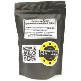 Coffee MaTuBu Sp Blend Black Albert 250g