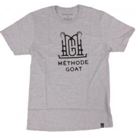 "Bokkereyder T-Shirt Grey ""Méthode Goat"" S"