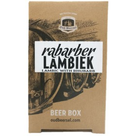 Oud Beersel Rabarber Lambiek Beer Box